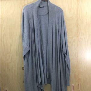 4X Grey Sweater